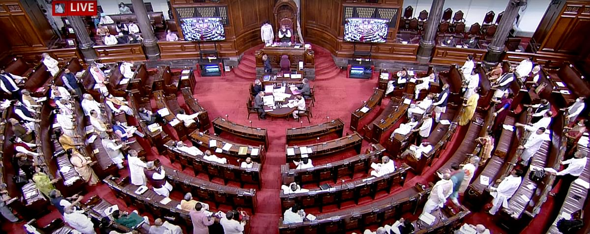 Proceedings ongoing in Indian parliament. The Modi government has the right to act in a manner that most self-respecting governments would if it chooses to challenge the Supreme Court's ruling on taxes. But it might also opt for a more calibrated approach as well.