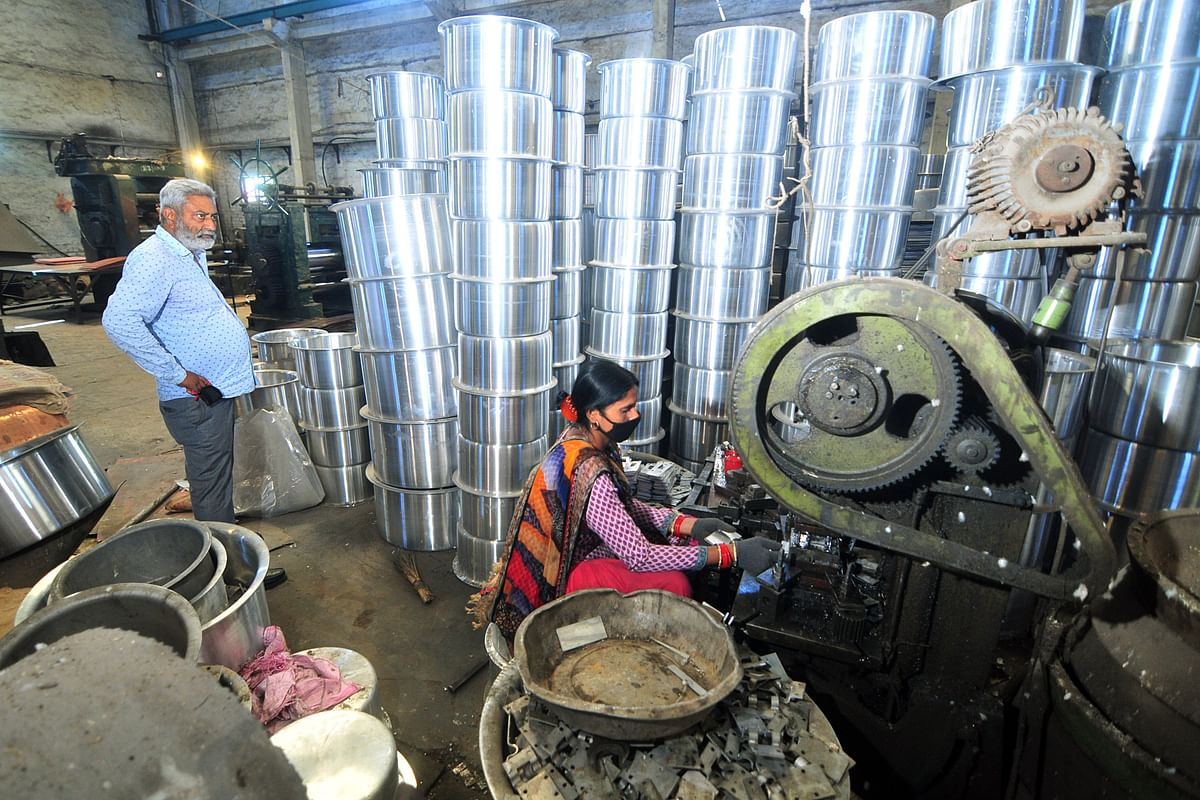 An MSME manufacturing unit in operation. The pandemic has affected the supply chain operations in this sector in India and Vietnam and could force markets to look towards China once again.