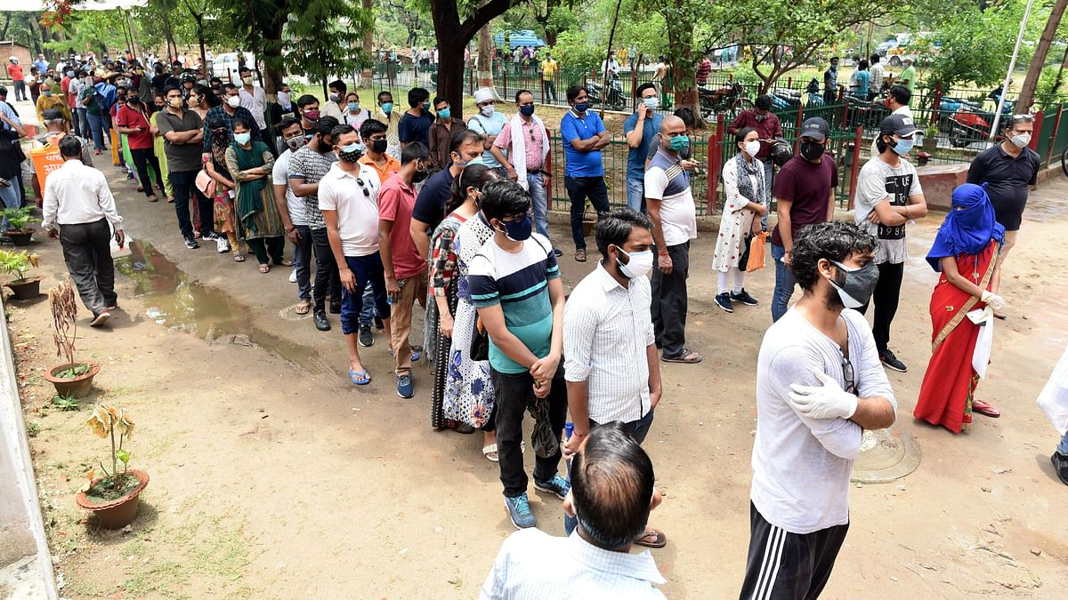 People in India queue up to receive a dose of the Covid-19 vaccine as the country battles a deadlier variant of the virus. The call for a vaccine patent waiver was always going to be a complex discussion among the WHO member nations.