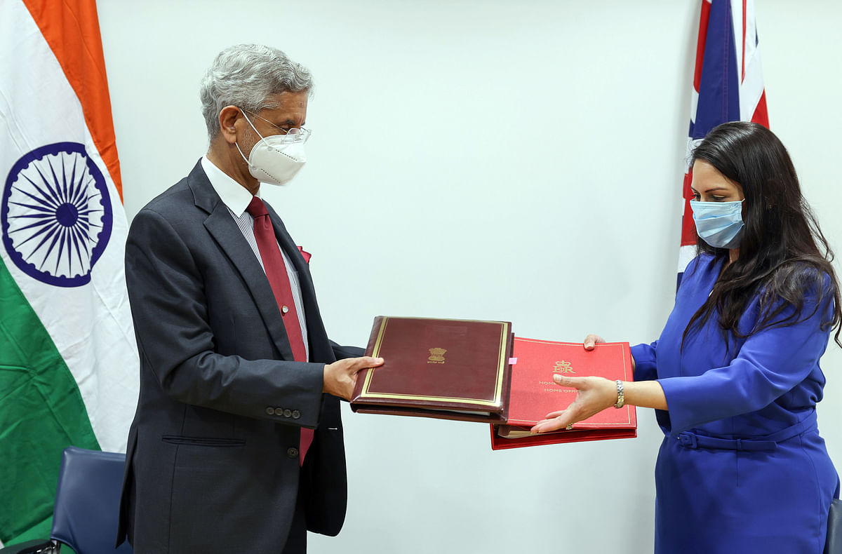 India's external affairs minister Dr. S Jaishankar with UK home secretary Priti Patel in London.  The UK, Japan and France are among New Delhi's closest allies. India needs to bury the spectre of retrospective tax once and for all – but the timing may need to be politically calibrated in order to retain the warmth in its bilateral relations.