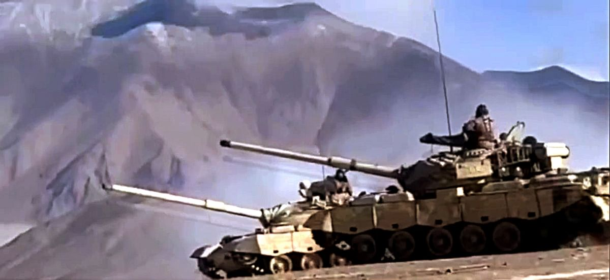 Second People's Liberation Army (PLA's) tank disengaging during the ongoing disengagement process in Ladakh. New Delhi still has ongoing issues with Beijing.