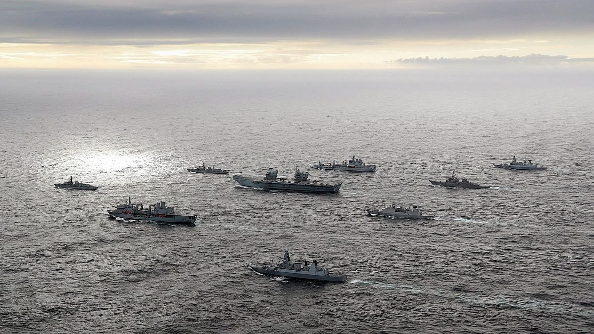 UK-India defence ties set for a boost as aircraft carrier sails through