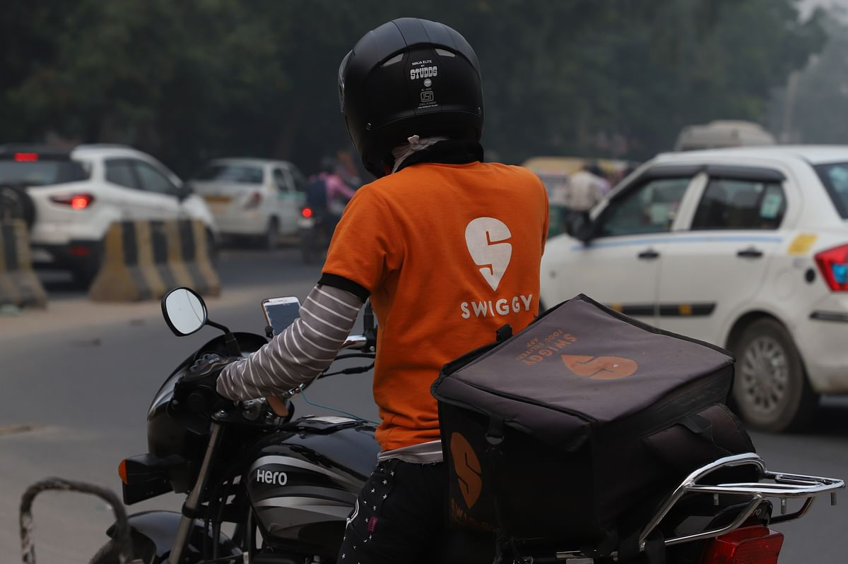 Japanese investment giant SoftBank put a massive bet on India's food delivery market, with Swiggy closing a $1.25 billion financing round.