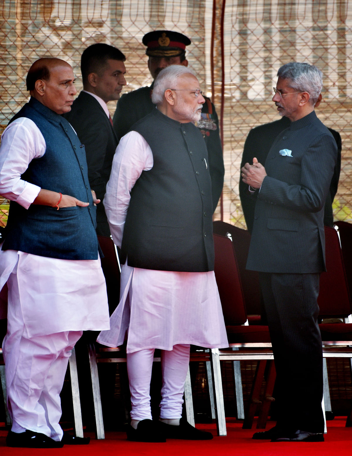 Prime Minister Narendra Modi, Defence Minister Rajnath Singh and Foreign Minister S Jaishankar together. The latter has dismissed any hopes of doing business with China till the tension on the borders cool down. Clearly suggesting that India is ready to dig in for the long haul with China.