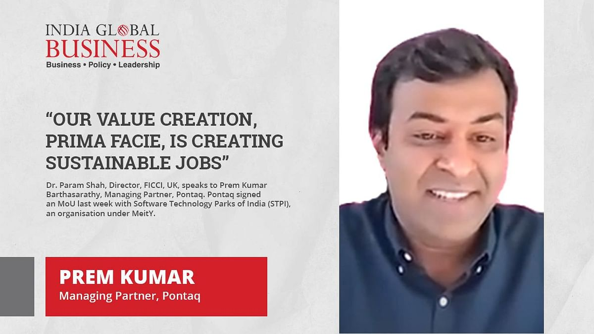 Our value creation, prima facie, is creating sustainable jobs