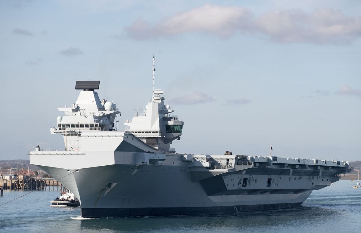 The HMS Queen Elizabeth represents the best of the UK Defence Industries' deterrent capabilities. It is also a symbol of defence cooperation with allies like India as the two nations have embarked on a set of goals as prescribed by the Roadmap 2030.