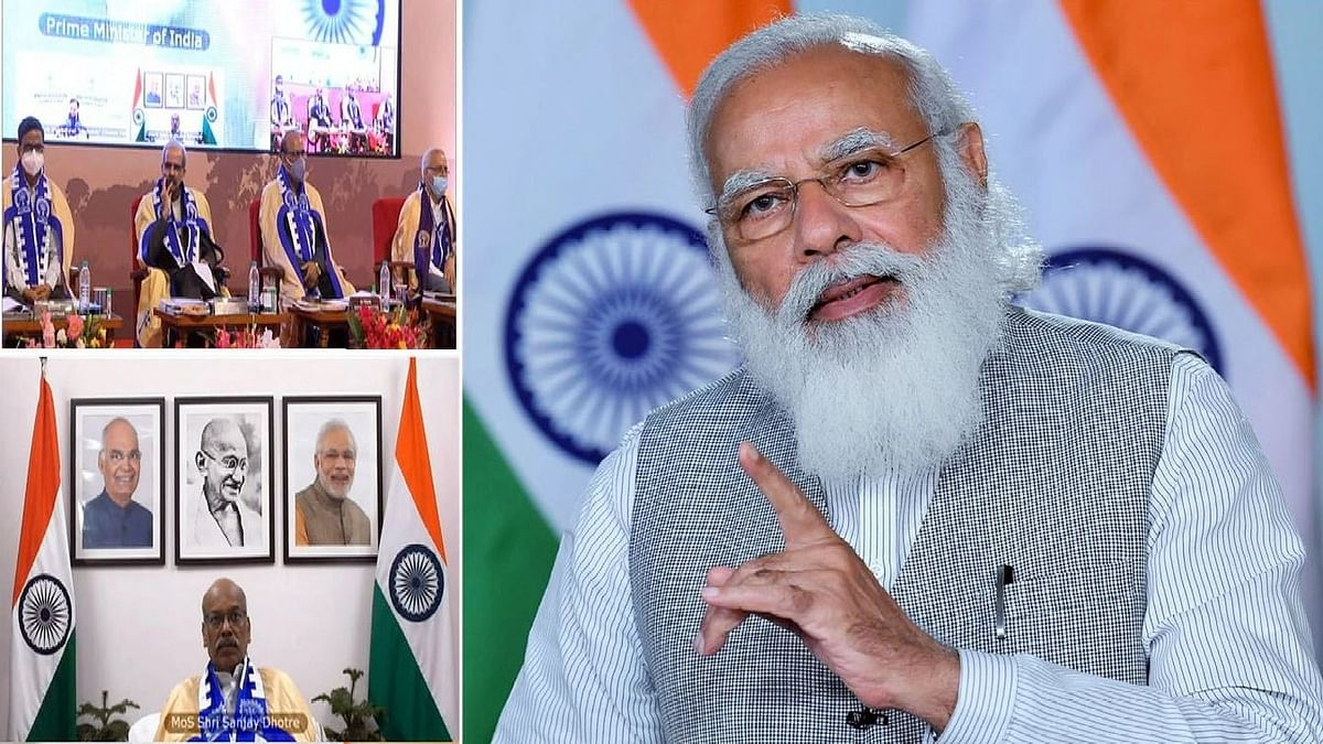 Indian prime minister Narendra Modi has made the call to the Indian Institutes of Technology (IIT) to aim for next level solutions and work towards home-made innovations that are environment-friendly, durable, and disaster-resilient.