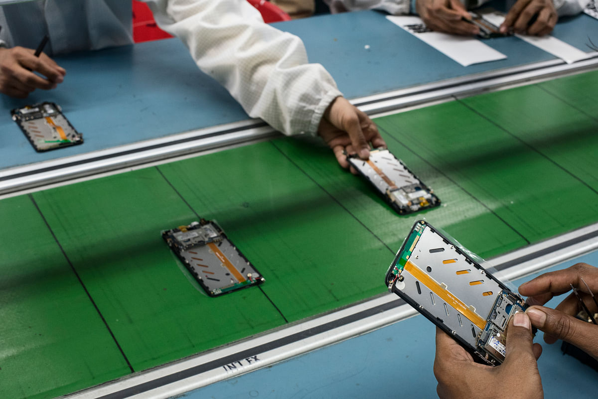 The GoI's strategy of PLI schemes for 13 sectors like smartphones, telecom gear, specialty steel medical devices and solar equipment and modules, among others has been eagerly accepted by industry and this is notching up the country's GDP and export targets.