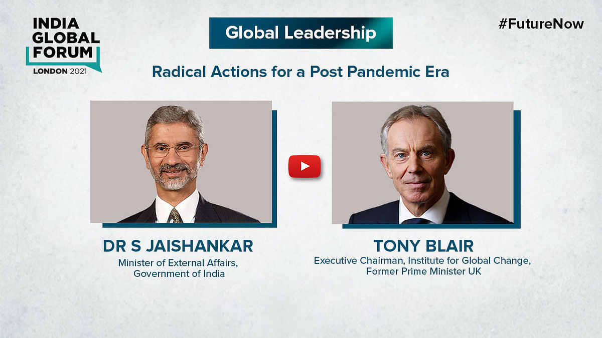 Developed world has to put up more resources to combat climate change, say Jaishankar, Blair