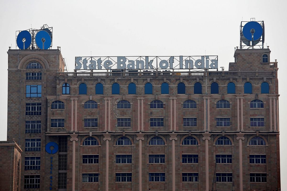 The State Bank of India (SBI) office in Kolkata. Public sector banks are planning to transfer about $27 billion worth of delinquent or stressed assets to NARCL – a combination of NCLT cases, NPAs and loans that have already been written off.