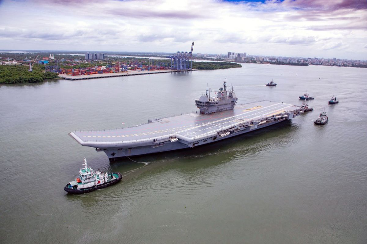 INS Vikrant sails for its maiden sea trials marking the 50th year of its illustrious predecessor's key role in the victory in the 1971 war, in Kochi earlier this month. Every product of India is its brand ambassador, with the government standing with the people's dream to take over the global market.