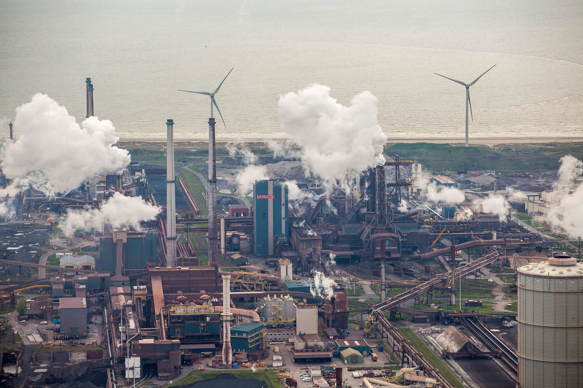 A view of the Tata Steel plant in the Netherlands. The turnaround at Tata Steel Europe will remove what many had considered an albatross around the neck of the parent company in India and enable it to focus more on its domestic expansion.