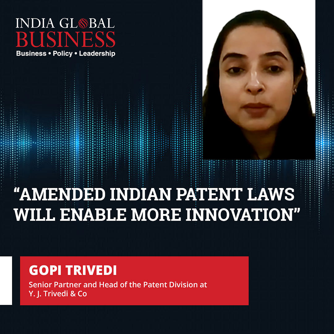 Amended Indian patent laws will enable more innovation