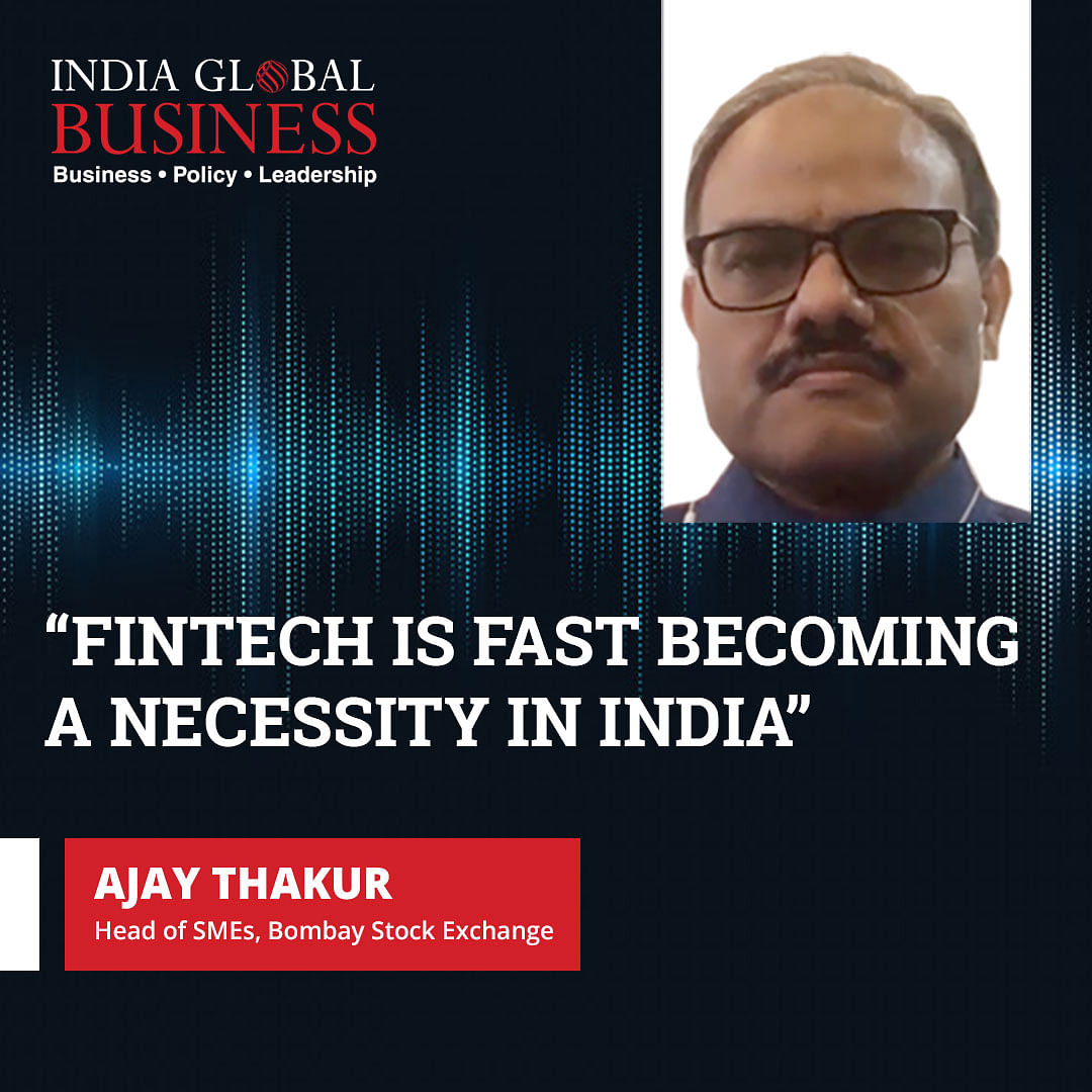 Fintech is fast becoming a necessity in India