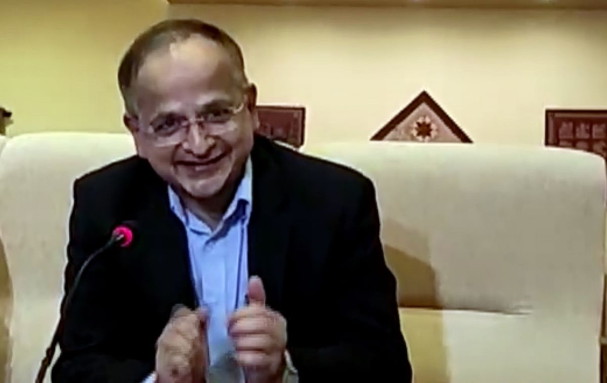India's ambassador to Kabul, Rupendra Tandon addresses the media on his arrival back to India. He stressed that the wellbeing of the Afghan people was on top of India's priorities but the situation on the ground was changing rapidly.