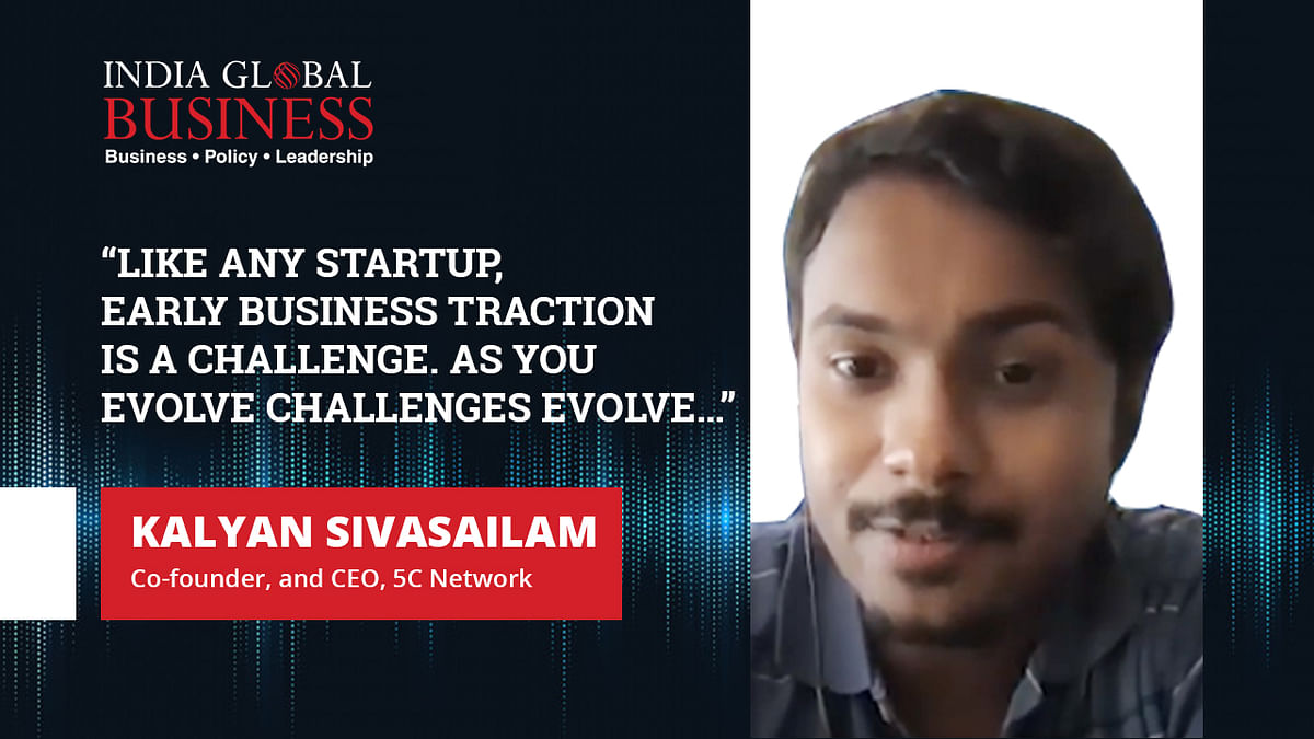 """""""Like any startup, early business traction is a challenge. As you evolve challenges evolve…"""""""