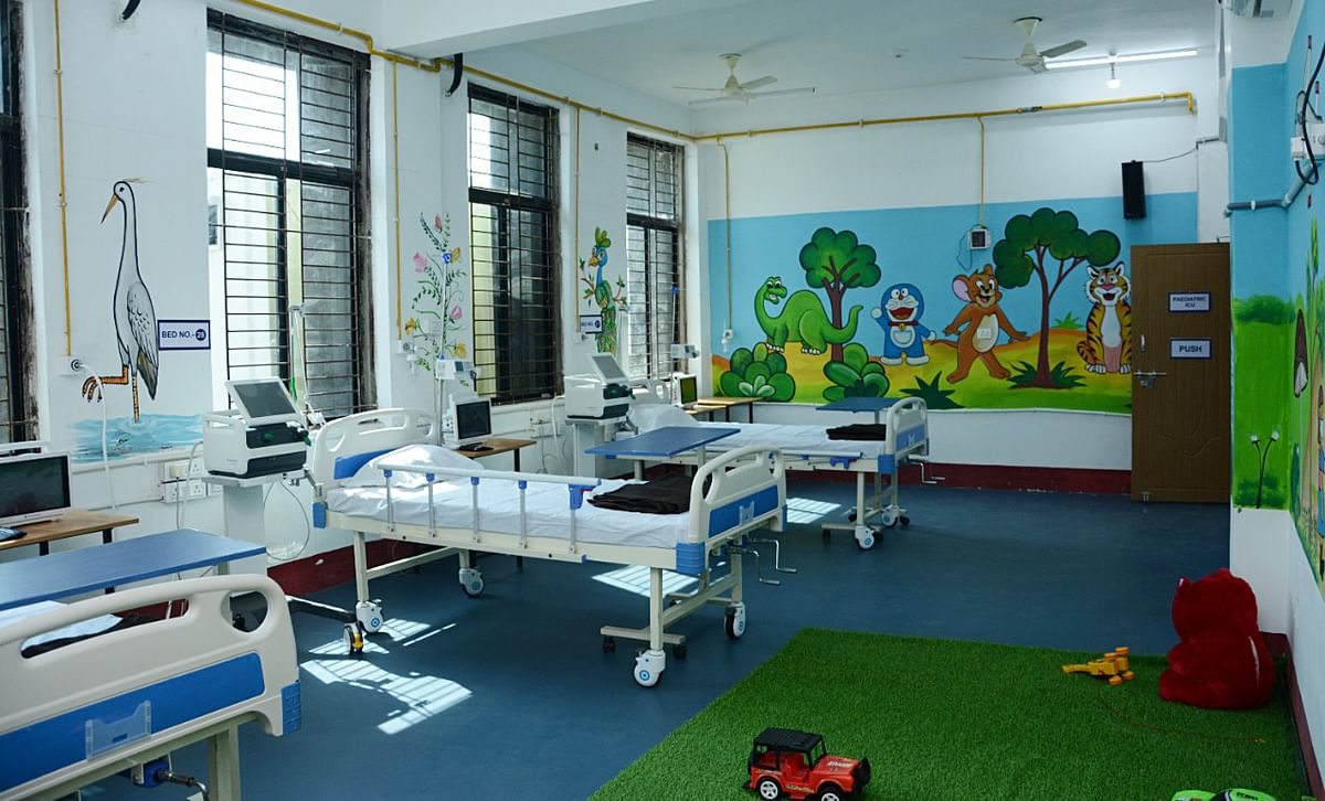 A 100 bed COVID hospital set up in collaboration with Vedanta Group.  After seeing the potential of telemedicine, the government moved to promote new platforms.