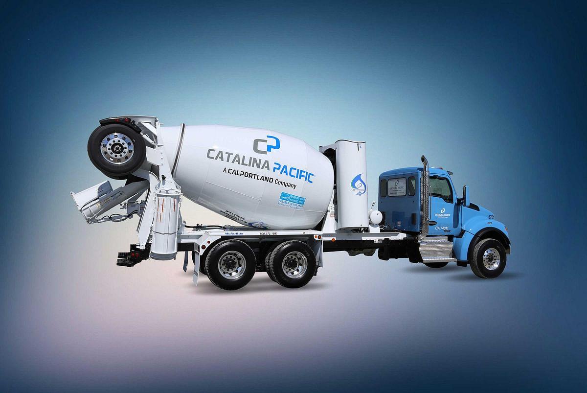 CalPortland launches near-zero CO2 truck fleet