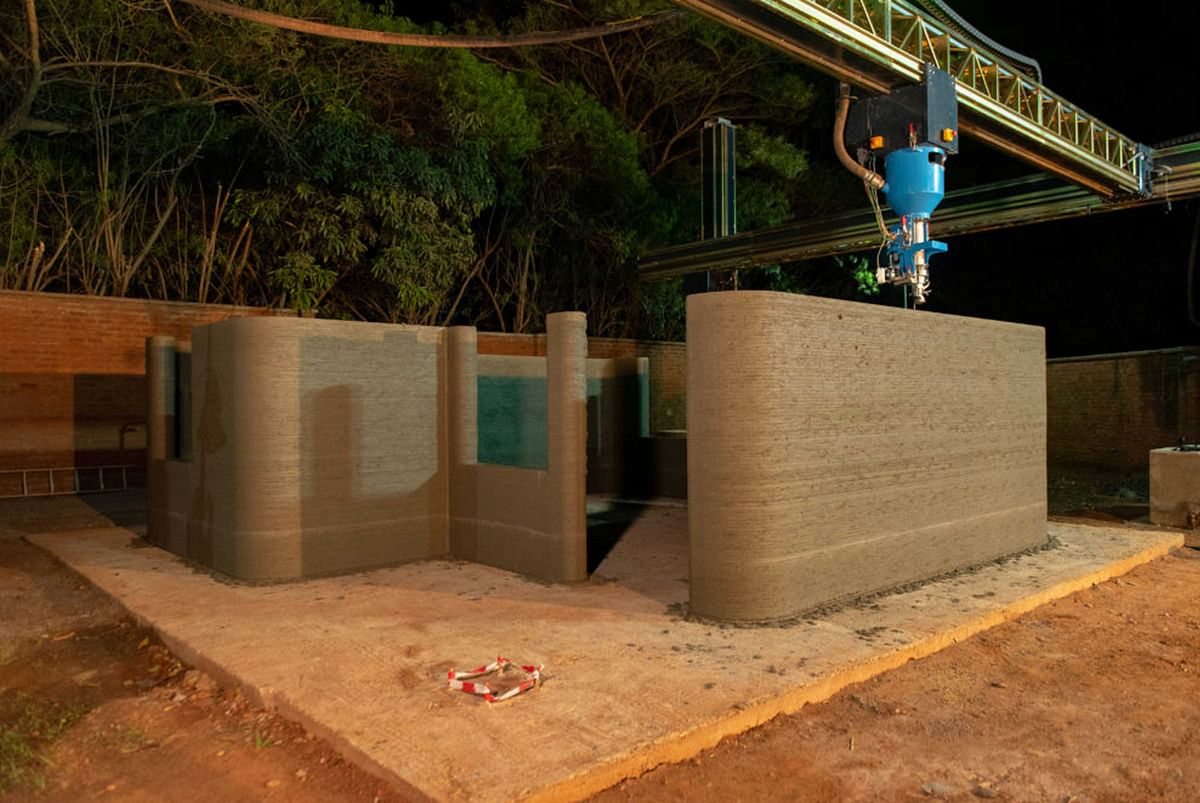 LafargeHolcim and CDC Group print 3D buildings in Malawi