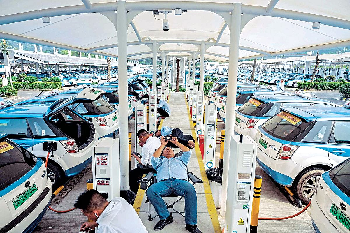 Shenzhen City Switching to an 'Electric Mobility.'