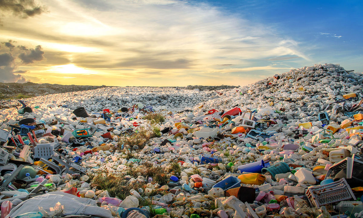 Plastic waste during pandemic