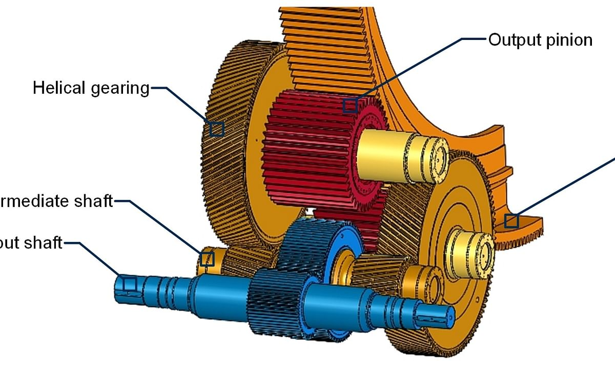 LGDX lateral gear drive for ball mills