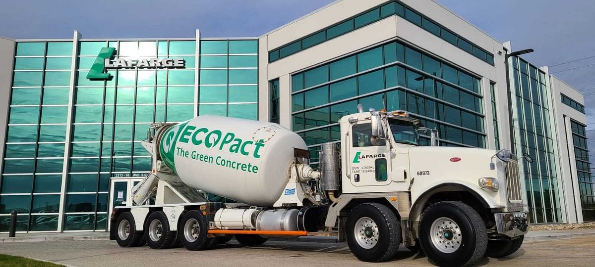 Lafarge supplies first ECOPact Zero concrete in Eastern Canada