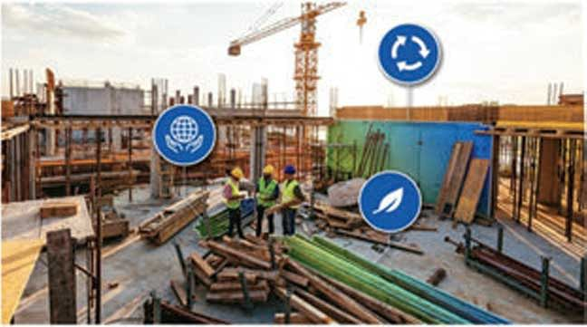 Sustainable construction materials – A future outlook