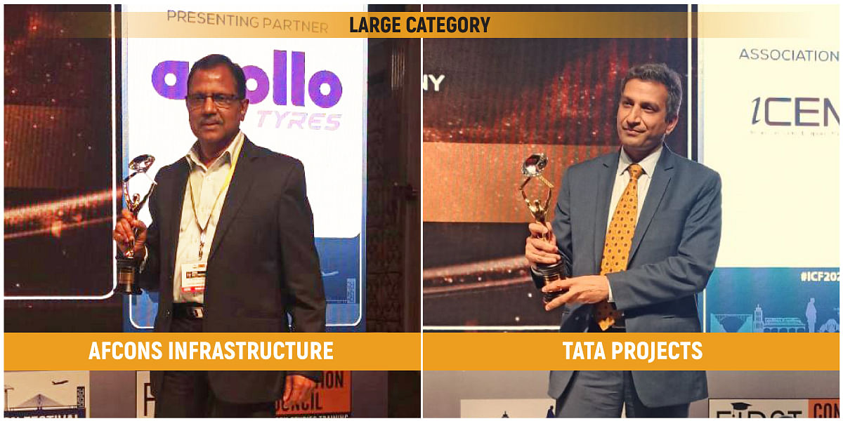 GR Infra, Tata Projects, Afcons India's fastest growing large construction companies