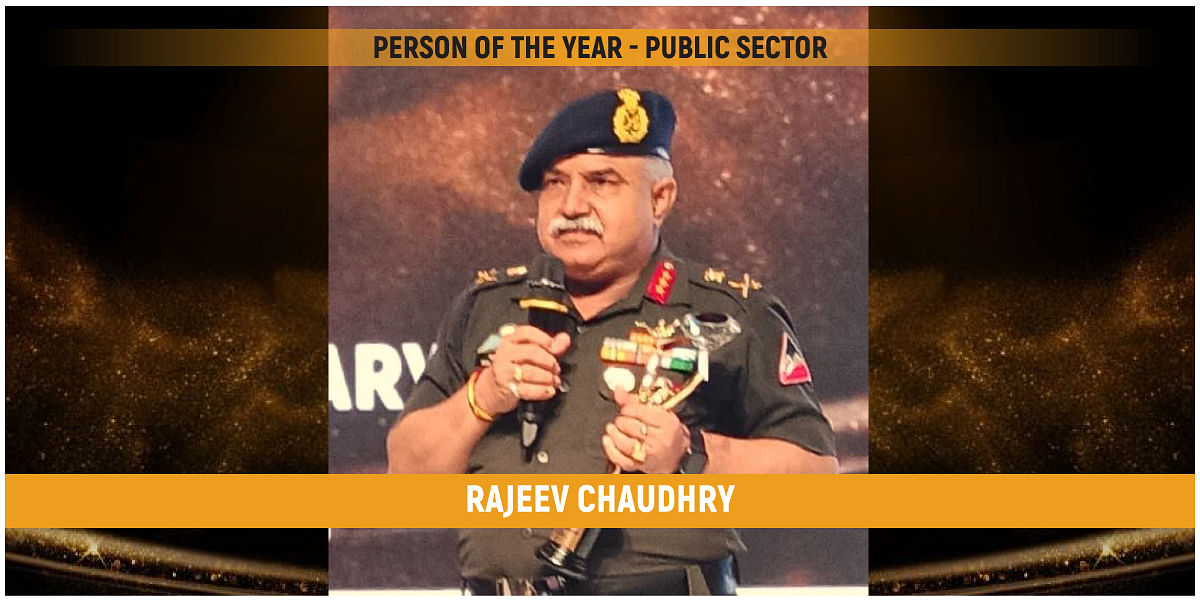BRO Lt Gen Rajeev Chaudhry is CW Man of the Year - Public Sector