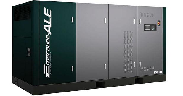 Kobe Steel's New Emeraude-ALE Oil-free Air Compressors