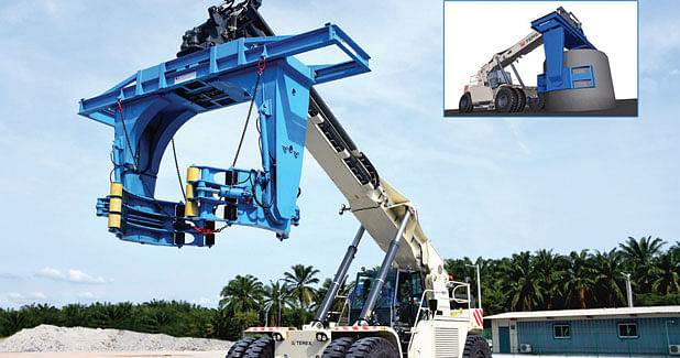 Precast Manufacturer Opts for Handling Machine from Terex
