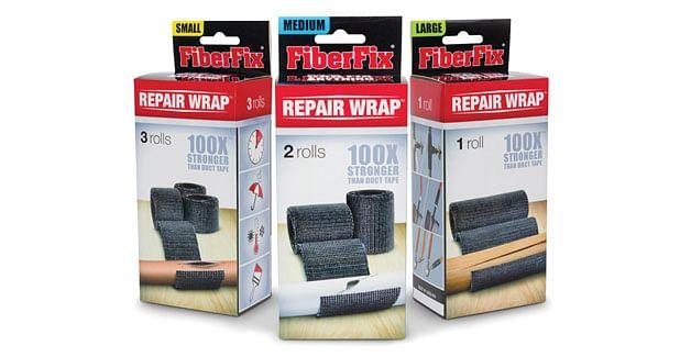 Wrap around repair material