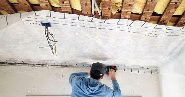 Energy-saving membrane tackles moisture