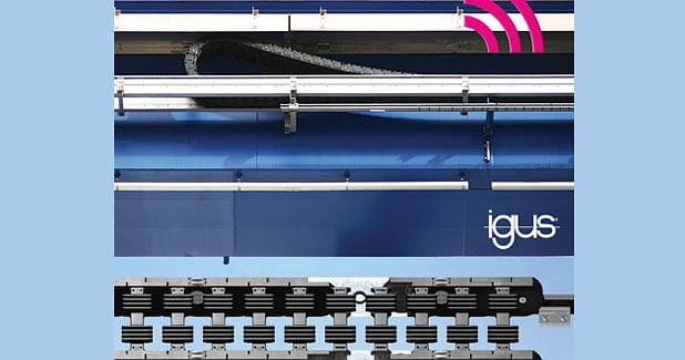 Igus plain bearings in roller chain