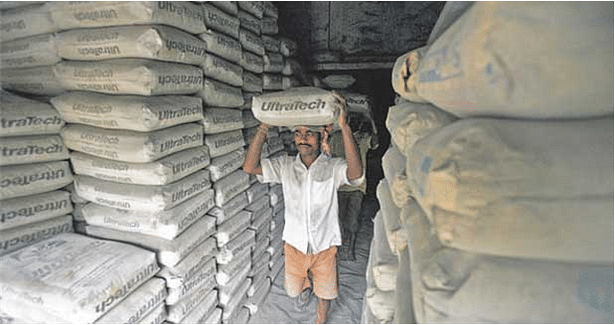 In spite of company's optimism, demand weakness in cement is seen in the 4% y-o-y drop in sales volume. (Reuters)