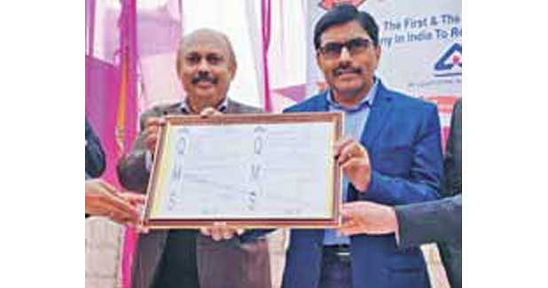 "Prism RMC is 1st ""Pan India"" company to receive BIS certification"