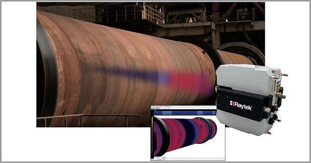 Kiln shell scanning system