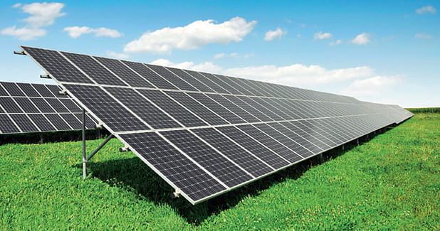 Solar PV in cement