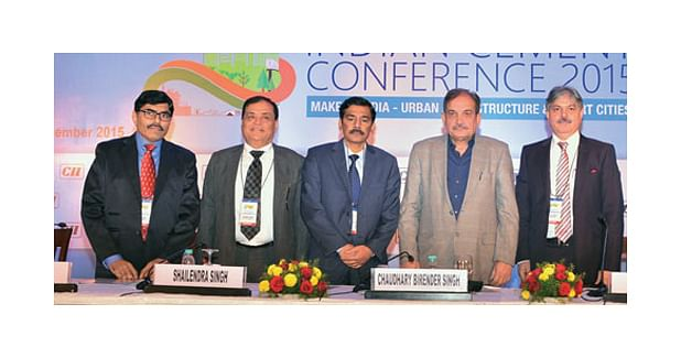 Indian Cement Conference 2015 arranged by CII
