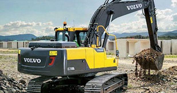 New crawler excavator