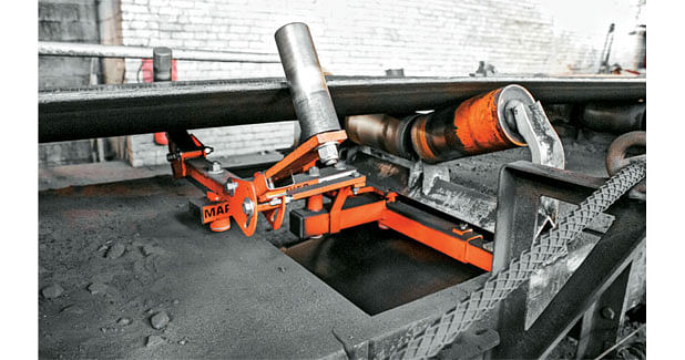 Tracking System for Conveyor Belts