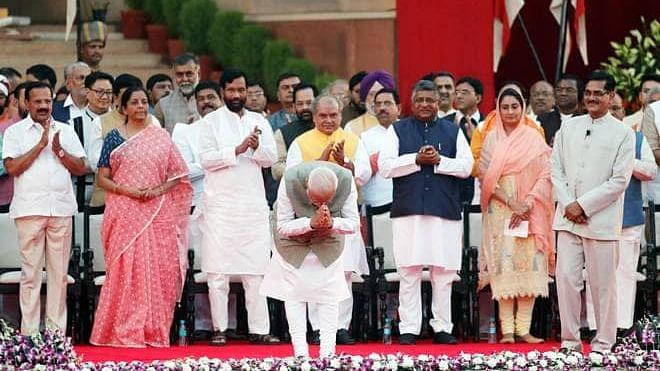 Modi 2.0: Did you know Modi's swearing-in ceremony had themes?