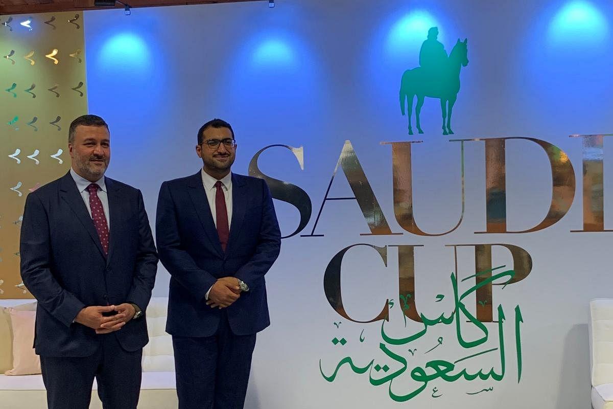 Crown prince awards Saudi cup 2021 to Irish stallion Mishriff