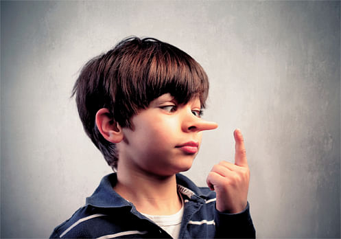 Parent's lies to children, make them liars, selfish in adulthood