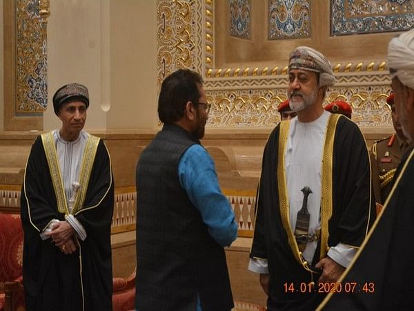 Mukhtar Abbas Naqvi meets Oman Sultan, conveyed condolences on demise of Qaboos