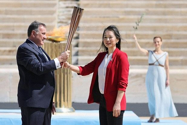 Olympic flame arrives in Japan amid worries over virus impact