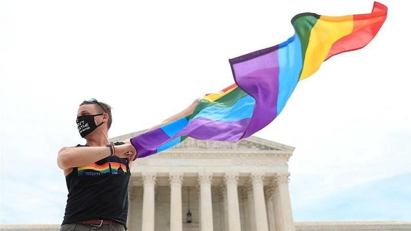 3 charged over LGBT flags on Warsaw statues