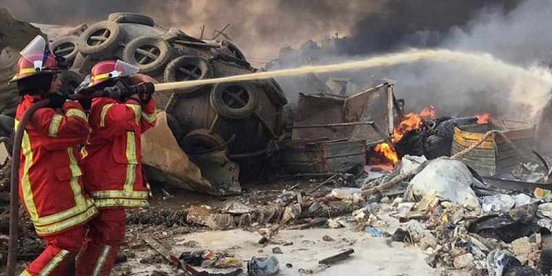 Sheikha Fatima donates AED10 million  for Lebanese affected in Beirut explosion