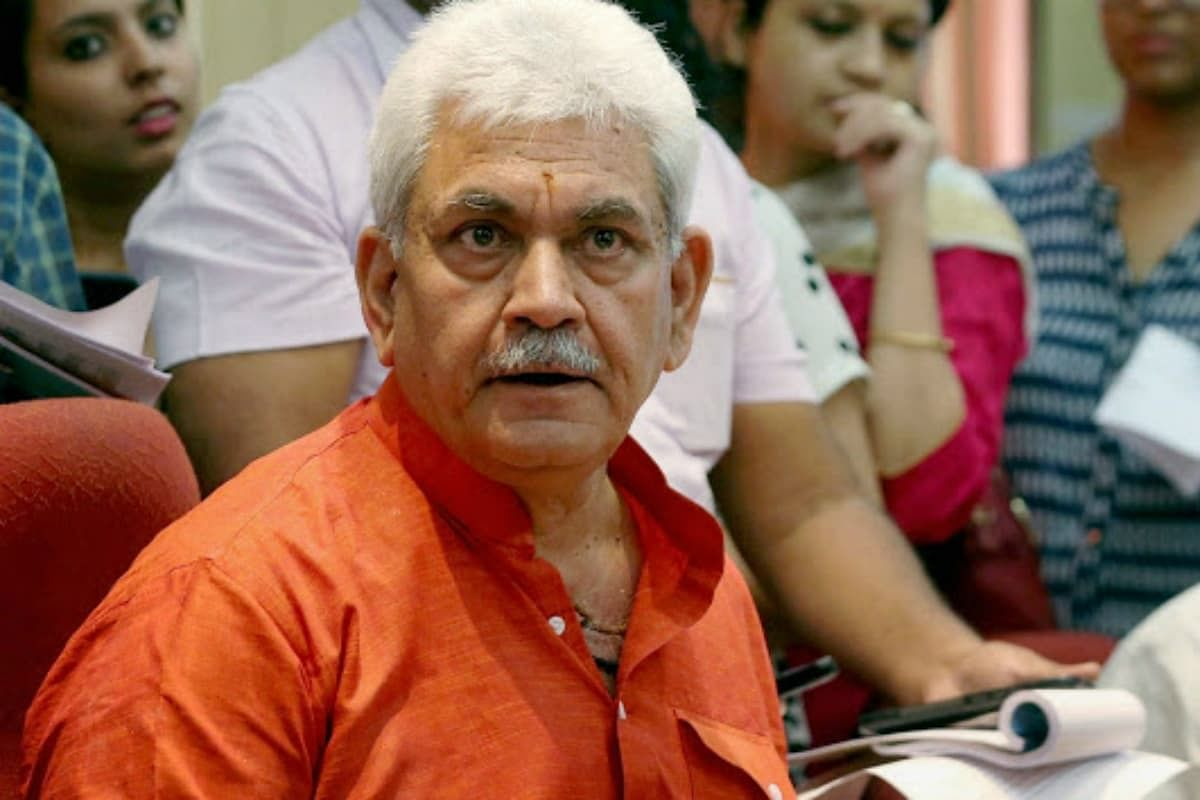 Hours after GC Murmu's resignation, Manoj Sinha appointed as next LG of J-K